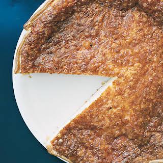 Cantal Cheese Tart.