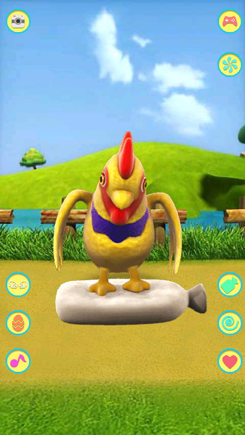 Talking Chicken- screenshot