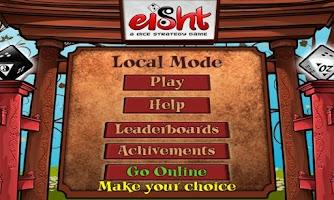 Screenshot of EIGHT - Free Dice Game