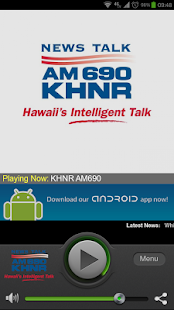 KHNR 690 AM - screenshot thumbnail