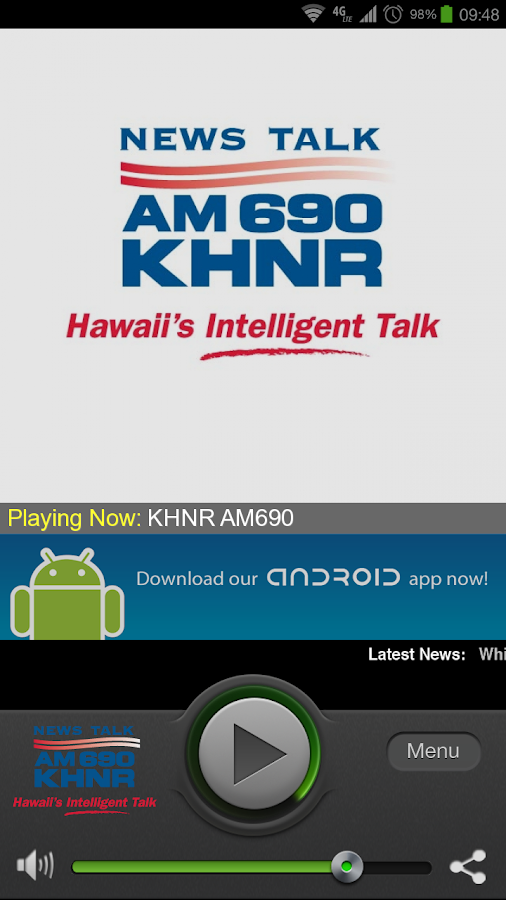 KHNR 690 AM - screenshot