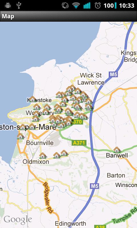 Bloxham & Barlow Estate Agents- screenshot