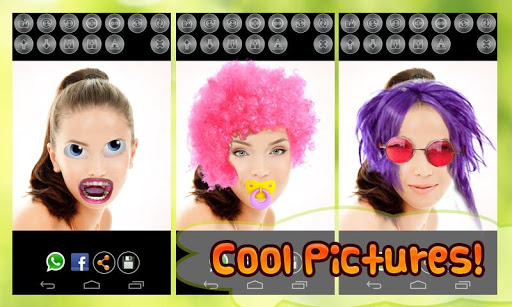 玩漫畫App|有趣的脸换:亲效果免費|APP試玩