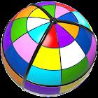 Spheroku - color sudoku on a sphere - brain puzzle icon