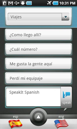 SpeakIt Spanish