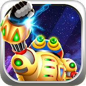 Clumsy Robot Run - Alien Space