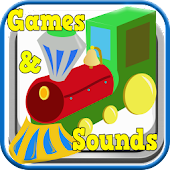 Train Sounds & Games -Ad Free