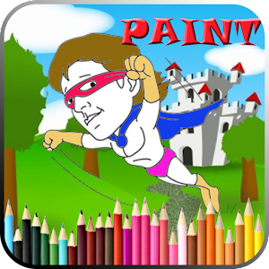 Go more links apk Actors Coloring Book For Kids  for HTC one M9