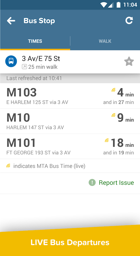 Citymapper - real time transit - screenshot
