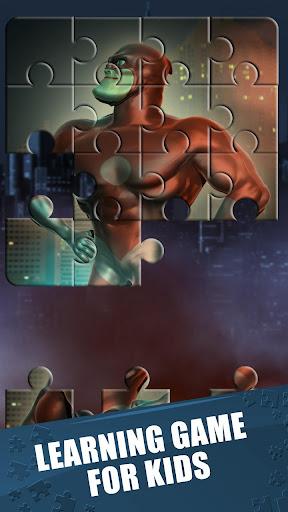 玩免費解謎APP 下載スーパーヒーロー ジグゾーパズル ゲーム app不用錢 硬是要APP
