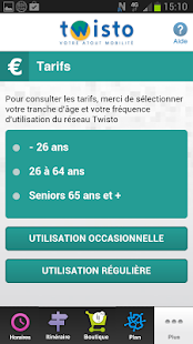 NFC Twisto pour Orange – Vignette de la capture d'écran