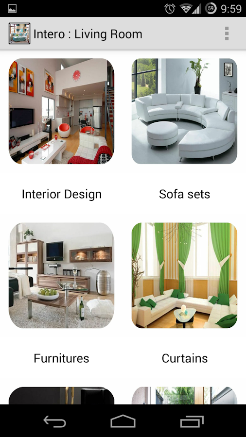 Interointerior design gallery android apps on google play for Interior design shopping app