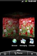 3D Poppy Flower