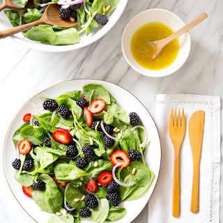 Spinach Blackberry Salad.