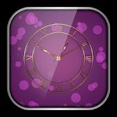 Purple Clock