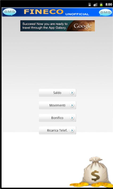 FinecoSMS- screenshot