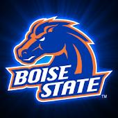 Boise State Broncos Clock