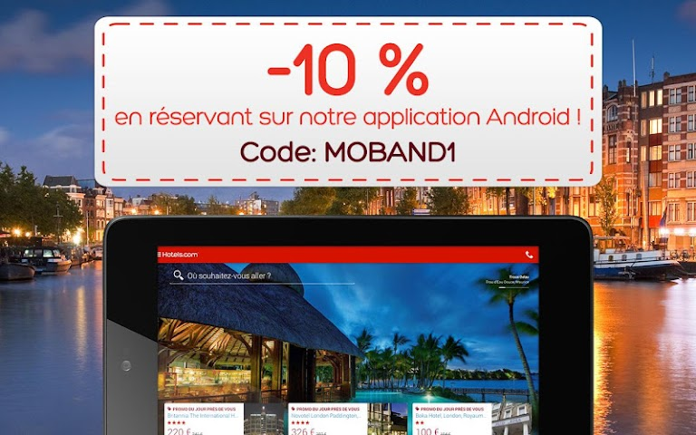 Screenshot 1 Hotels.com – Hotels buchen