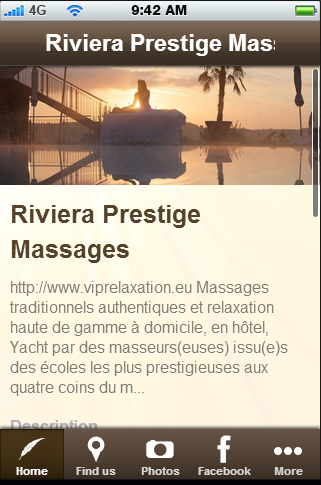 Riviera Prestige Massages