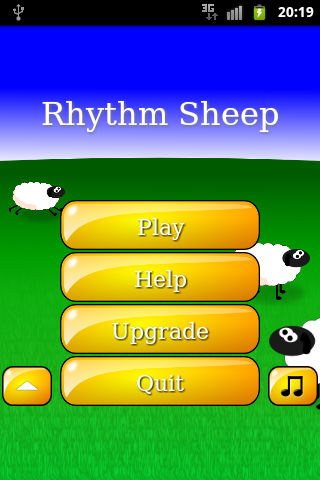 Rhythm Sheep Free, learn music - screenshot