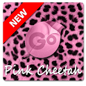 Pink Cheetah GO Keyboard Theme logo