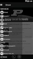 Screenshot of Perry Local Schools