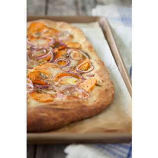 Smoked Gouda and Sweet Potato Pizza.