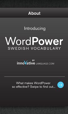 Learn Swedish Free WordPower - screenshot