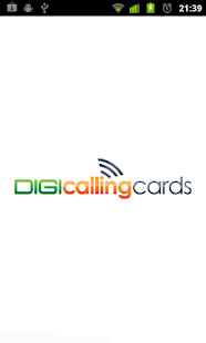 Digi Calling Cards Dialer- screenshot thumbnail