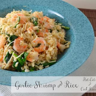 Garlic Shrimp and Rice.