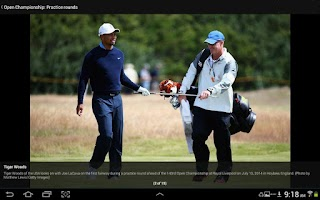 Screenshot of Golf Channel Mobile