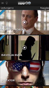 HBO GO Serbia - screenshot thumbnail