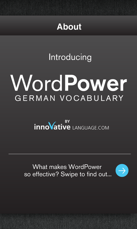 Learn German Free WordPower - screenshot