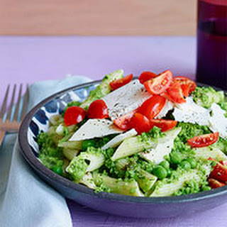 Penne with Peas & Mint Recipe