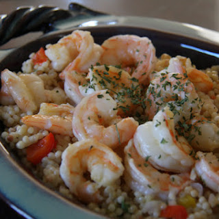 Chilled Shrimp and Couscous