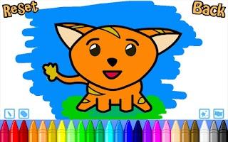 Screenshot of Simply Kids Colouring Free