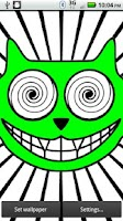 Screenshot of The Cheshire Cat Live Wallpape