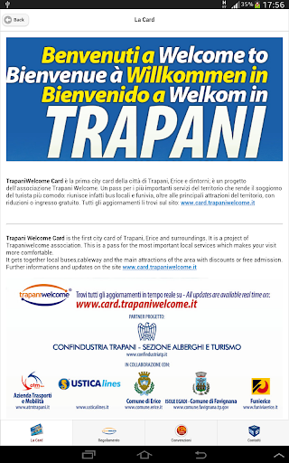 玩旅遊App|Trapani Welcome City Card免費|APP試玩