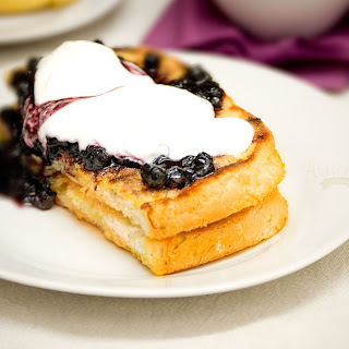 French Toast with Fruit.