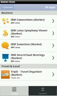 IBM Mobile Client - screenshot thumbnail