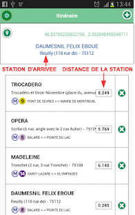 CheckMyStation Capture d'écran