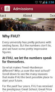 FHU Mobile - screenshot thumbnail