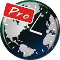 Visual Time Zone Pro icon