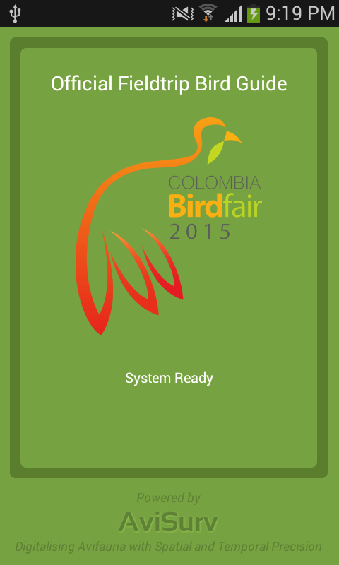 Colombia Birdfair 2015 Guide- screenshot