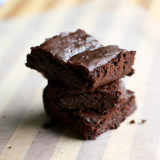 Gluten Free Vegan Black Bean Brownies.