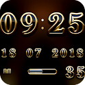 VEGA Digital Clock Widget