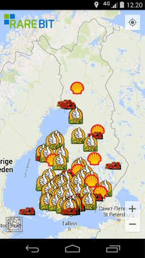 Suomen E85-asemat