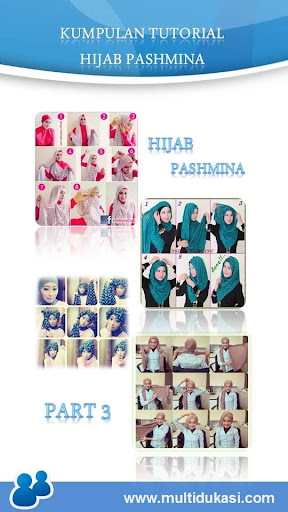 Tutorial Hijab Pashmina 3