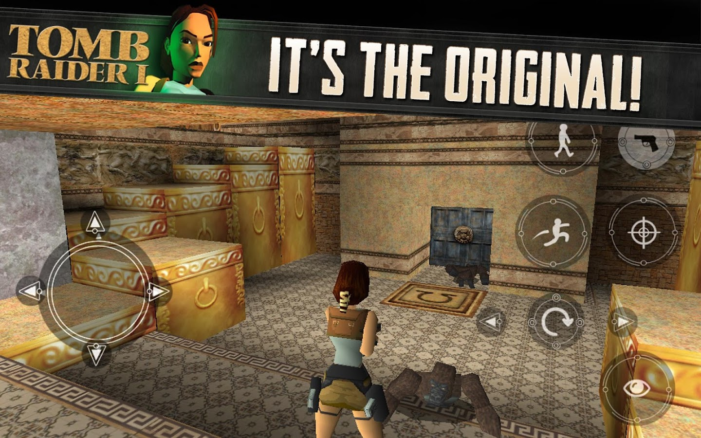 Tomb Raider I- screenshot