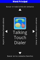 Screenshot of TT_Dialer-Talking Touch Dialer